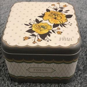 Fossil Watch Tin